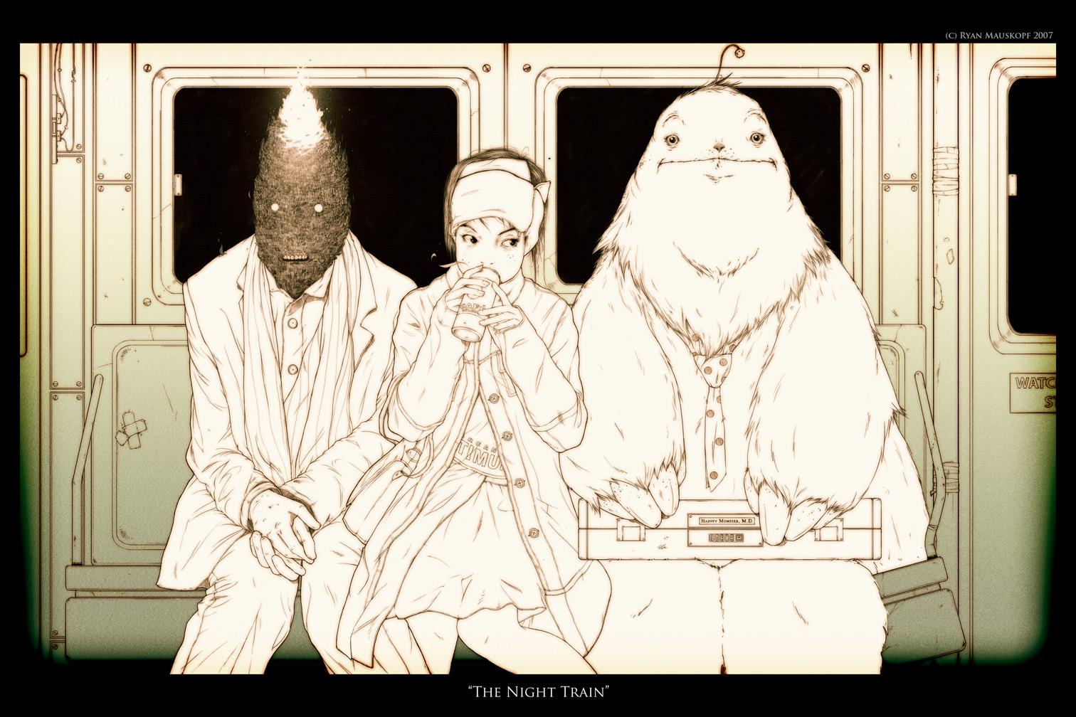 The Night Train by RYE-BREAD
