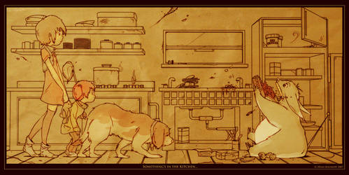 Something's in the Kitchen...