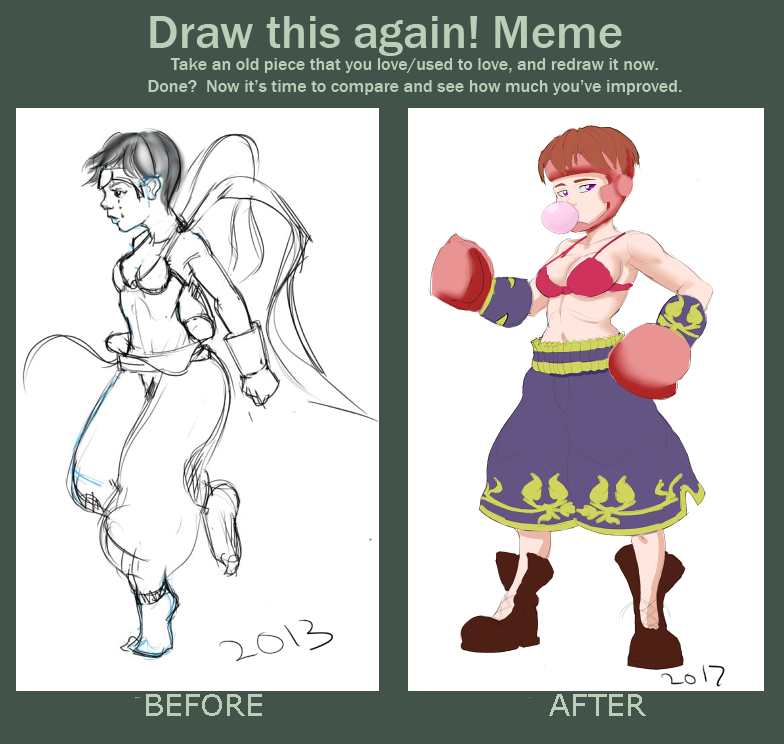 Before After Quil by The-ArtSide