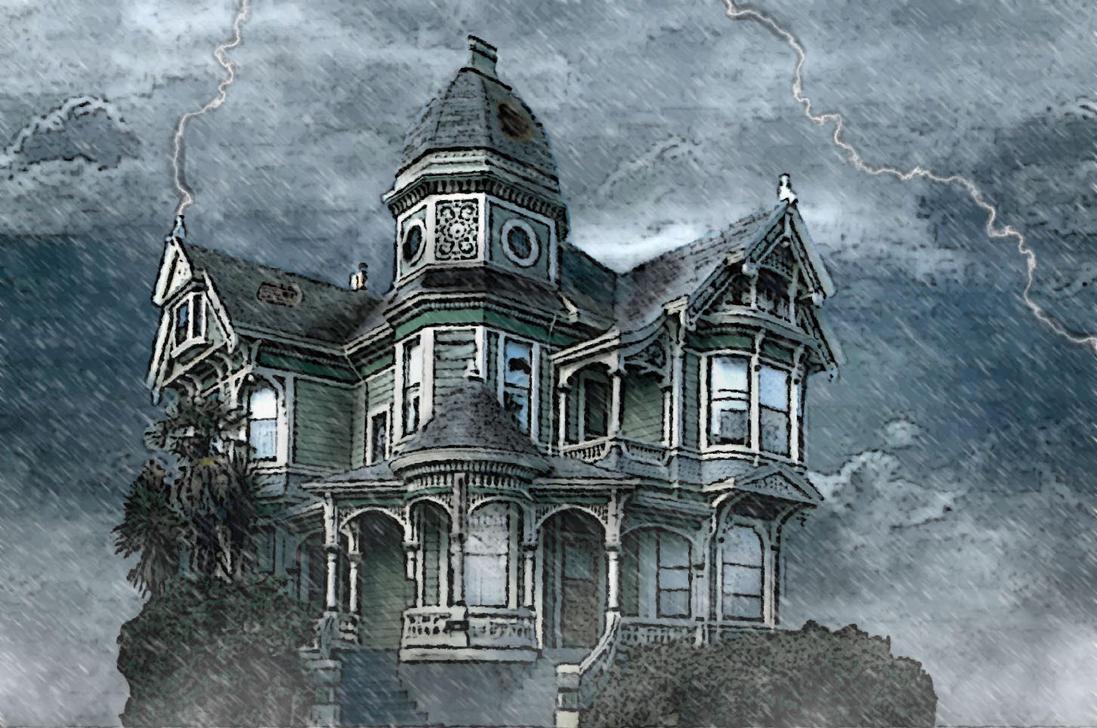 Old Creepy House By SebHoggene
