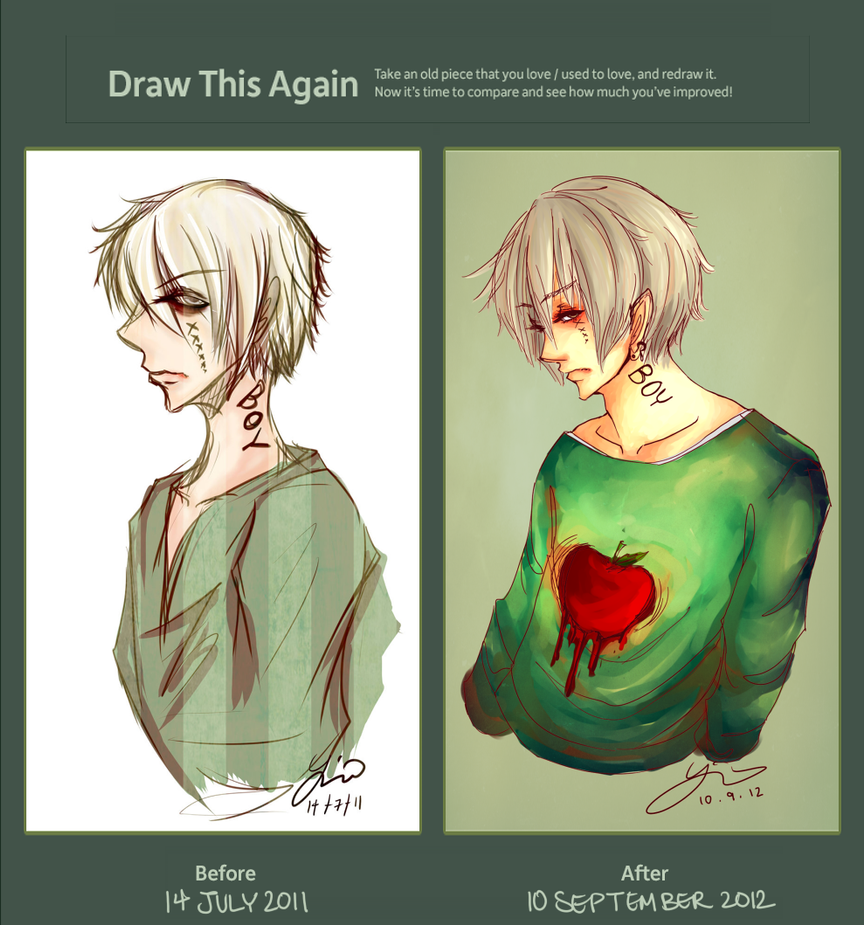 Draw This Again Challenge by Haifu