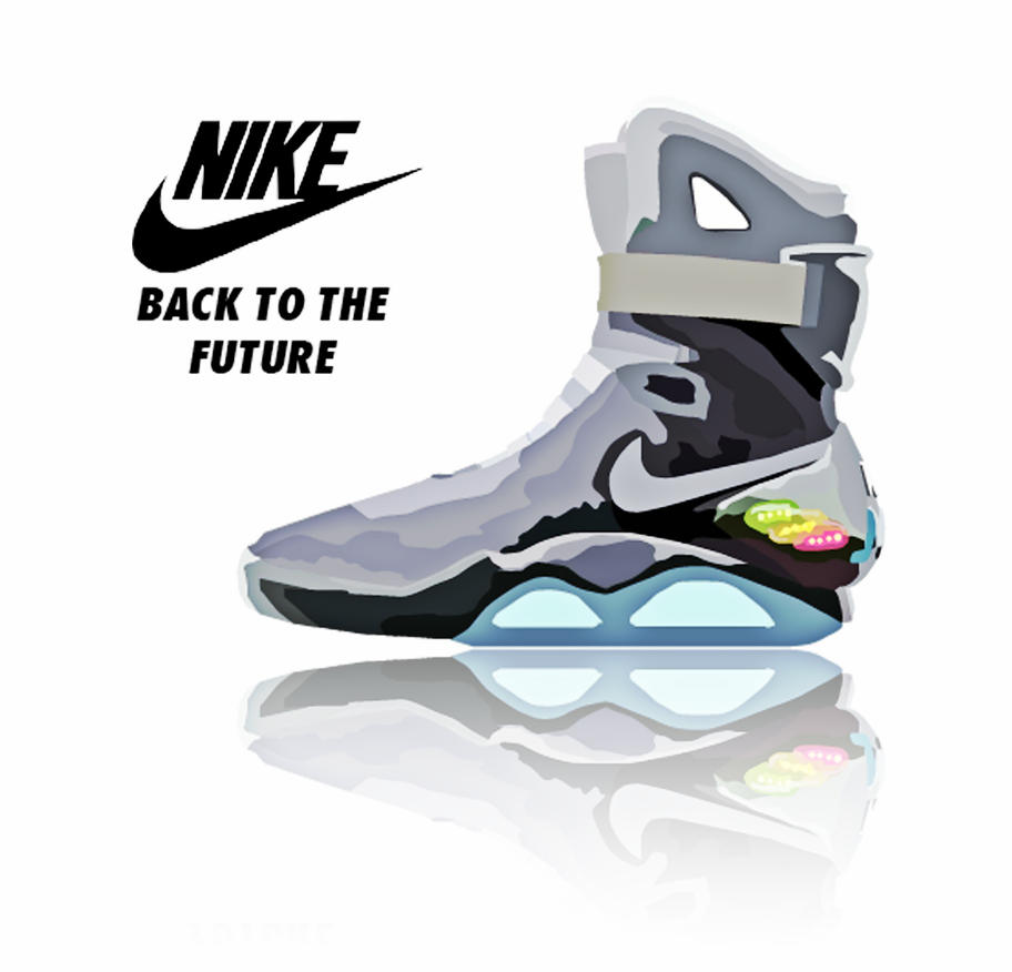 nike air mag back to the future 2015 by dan hadez on deviantart. Black Bedroom Furniture Sets. Home Design Ideas