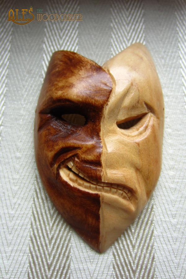 Talisman of olidammara wood carving by alesthewoodcarver