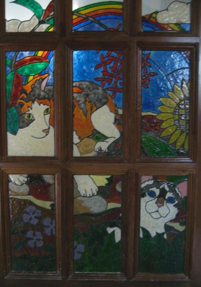 Mock Stained Glass - Yen + Slush by pergamjee
