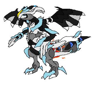 black/white kyurem by darkdragon-champion