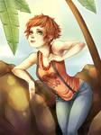 Tropical lady by Oak-apple