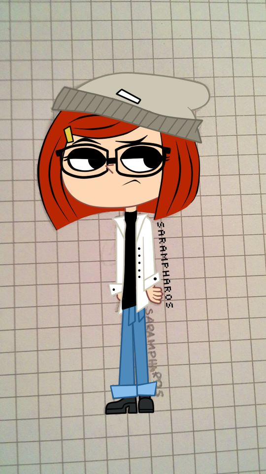 Hipster Laney by SarAmpharos