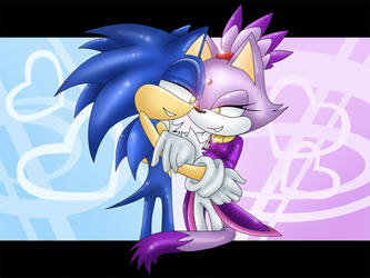 SonicxBlaze: You and I by blazedacat