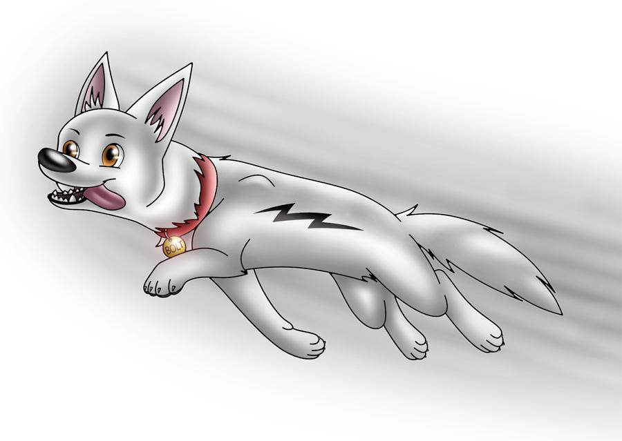 Bolt, zoom zoom by blazedacat