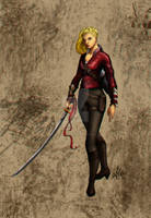 Cypher System RPG character: Anja Novac