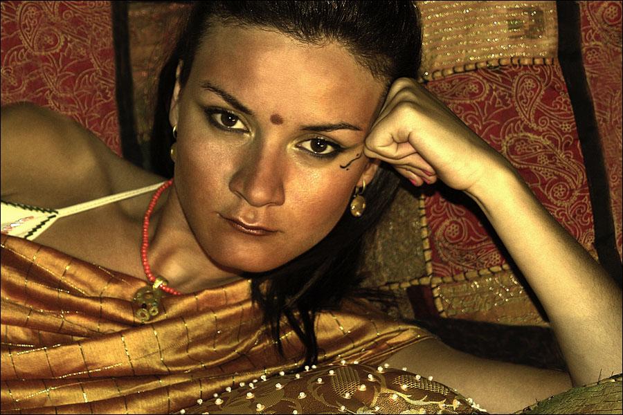 Hindu Princess.. by Gutenmorgenduft