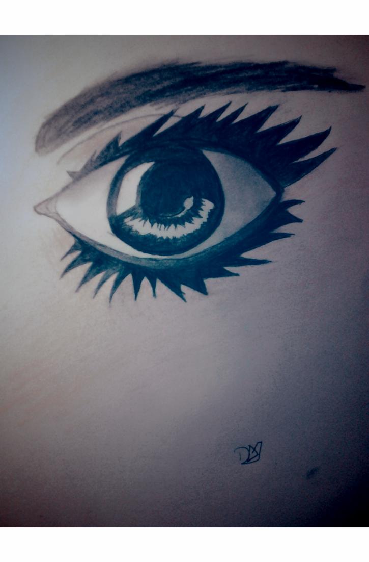 Realistic Female Eye by DradonX90