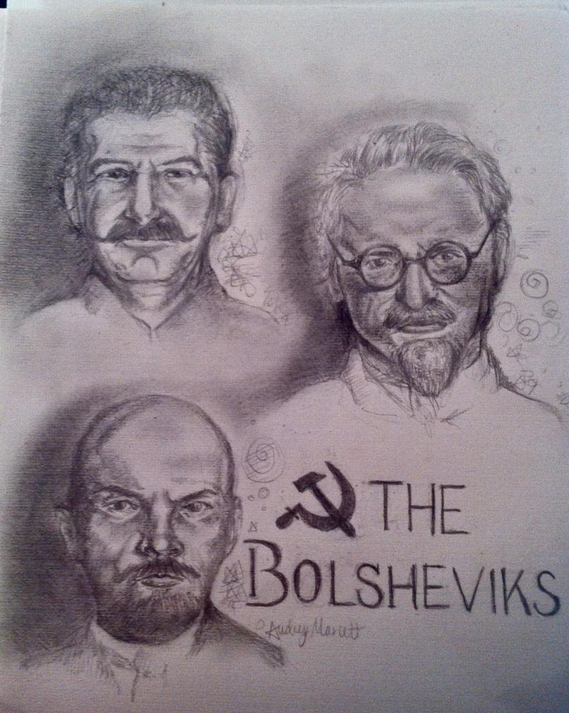 The Bolsheviks by audr3h