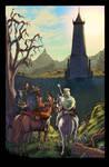 WoDnD 1 Dragonlance story p1 by ChrisSummersArts
