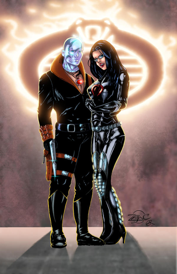 Destro and Baroness by ChrisSummersArts