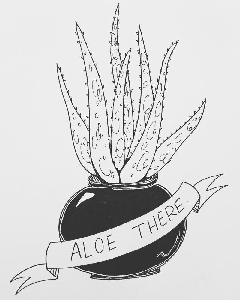 Aloe There by allistella