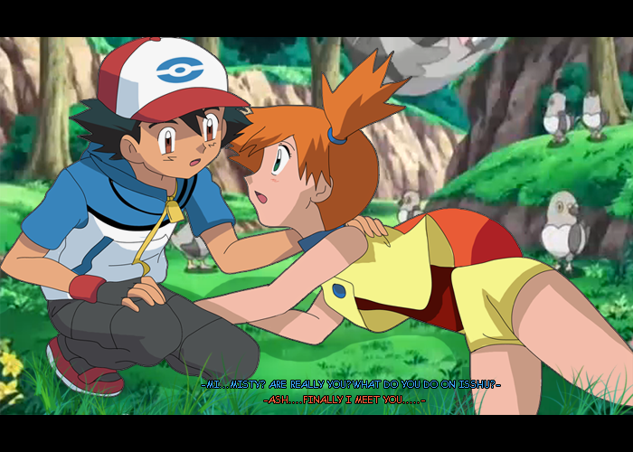 what episode does ash meet up with misty again