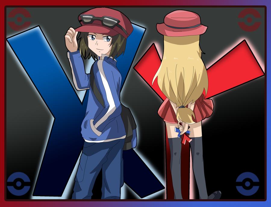 pokemon x y chara improve by hikariangelove