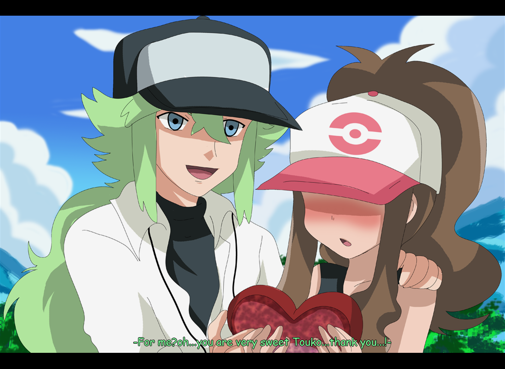 Pokemon rosa and n
