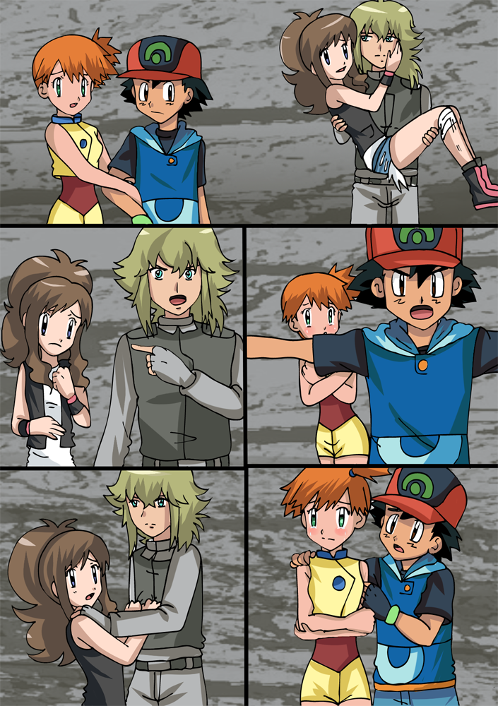 Pokemon fusion sidestory conflicting love by hikariangelove on