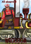 on the railway comic commission 14