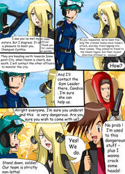 Legend of the Lake Orbs comic commission 24 by hikariangelove