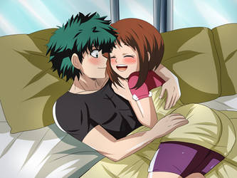 izuocha hug 18years old by hikariangelove