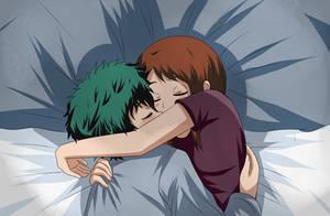 izuocha sleep by hikariangelove