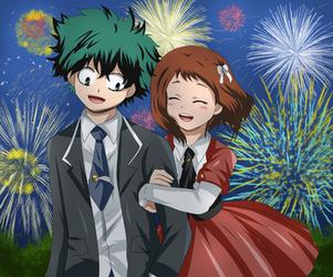izuocha happy new year by hikariangelove
