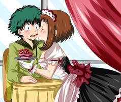 izuocha maid by hikariangelove