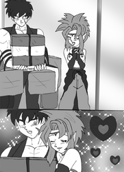 commission comic 4 granddragoonknight by hikariangelove