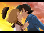 amourshipping teenagers almost kiss