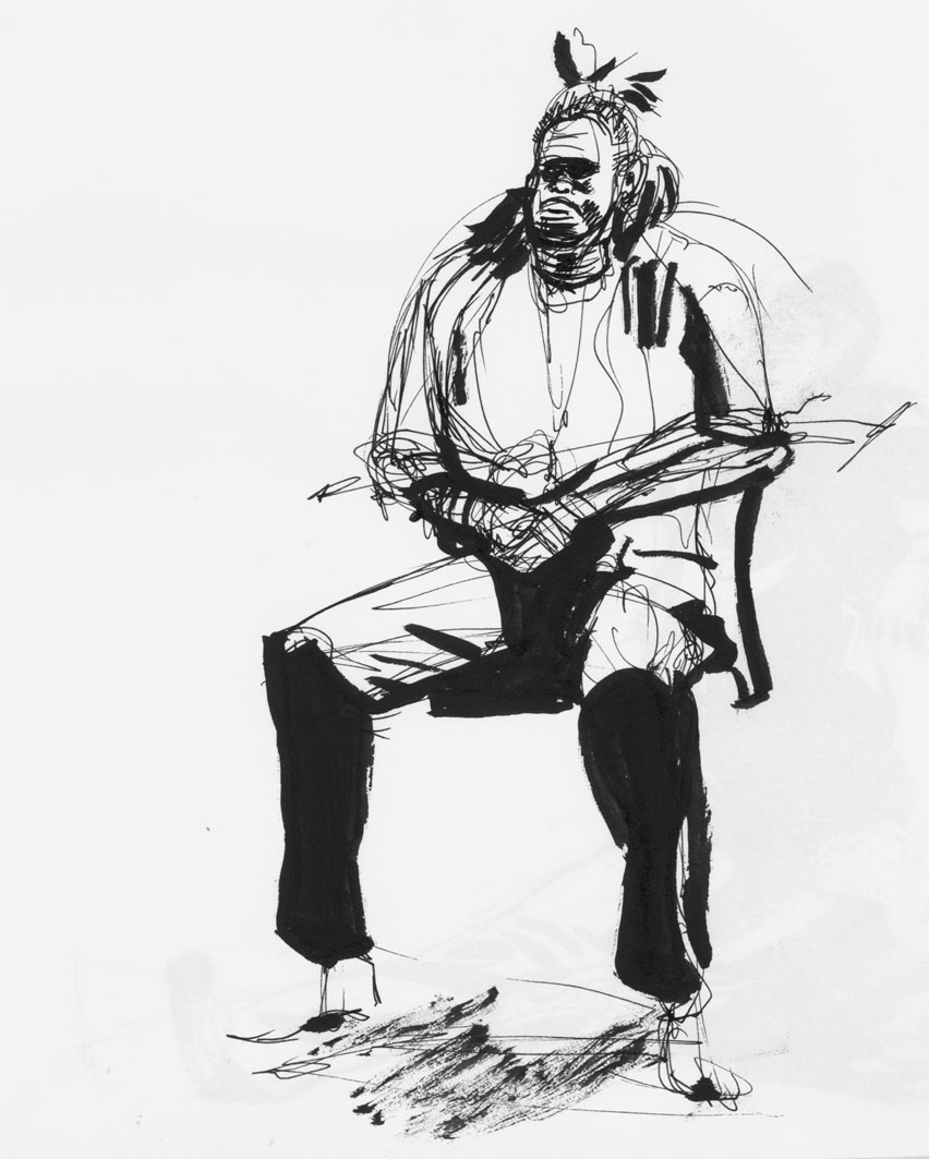pen and ink figure drawing 02 by wadedraws on deviantart