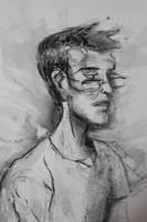 Danny Portrait by wadedraws