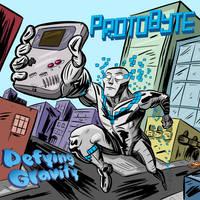 Protobyte Album Cover by wadedraws