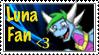Luna Fan Stamp by star2behold