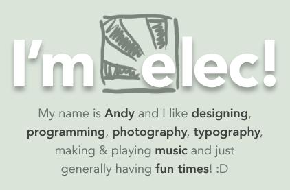 I'm elec by electricnet
