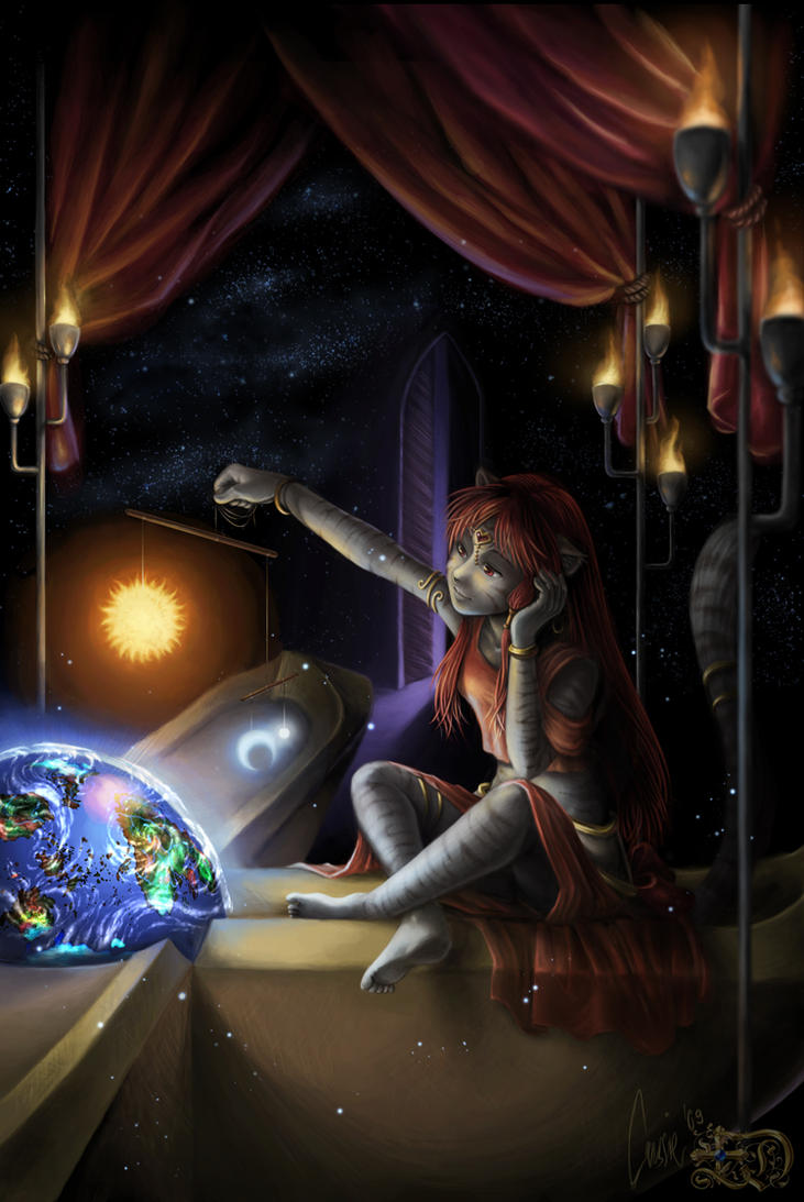 Locked within the crystal Ball by kessir