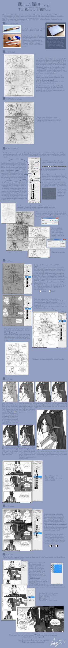 Walkthrough- How i draw comics by kessir