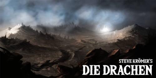 Die Drachen - Desert by kessir