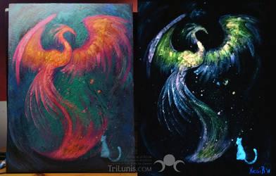 Neon Phoenix by kessir