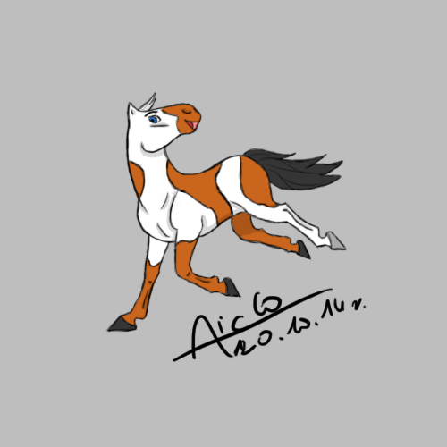 ZP Sketch : Quater Horse by Aiclo