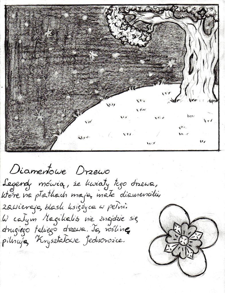 Legenda o Diamentowym Drzewie... by Aiclo