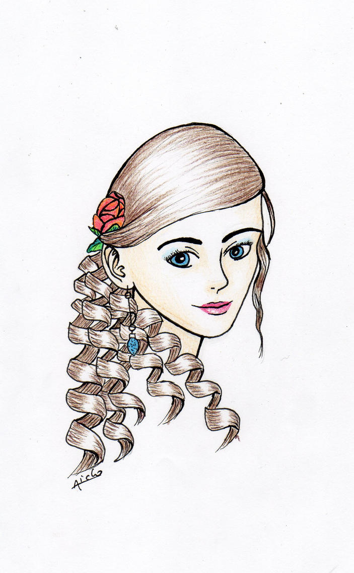 Julia Portret by Aiclo
