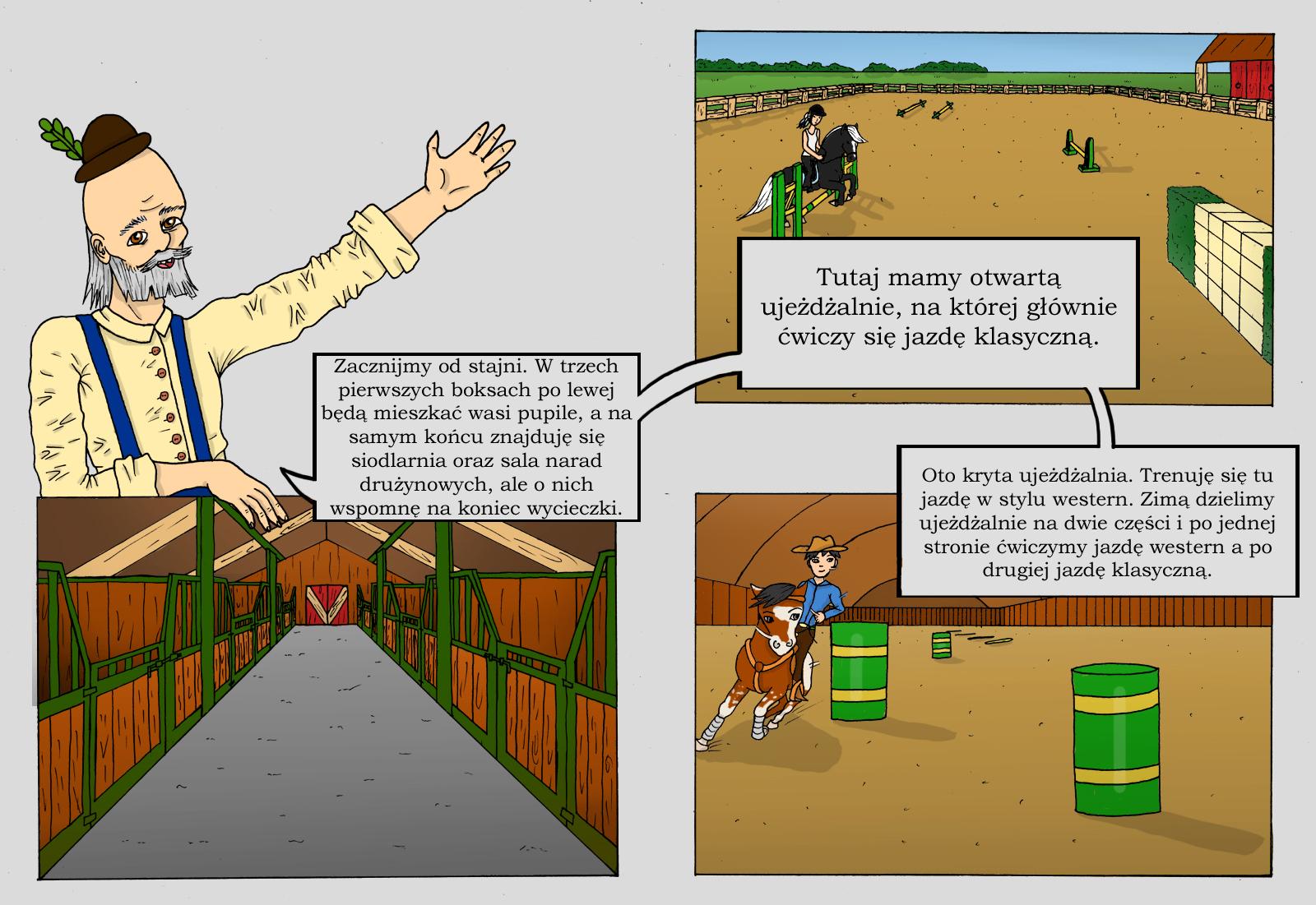 Zlota Podkowa: Strona 7 i 8 by Aiclo