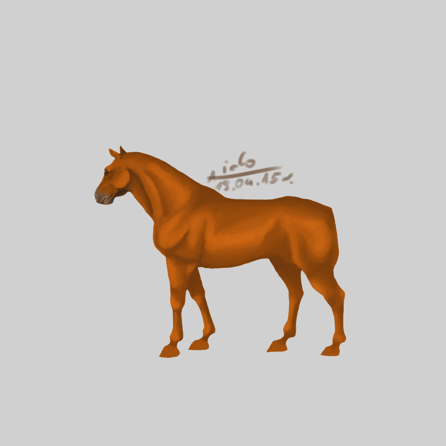WIP#3 Horse by Aiclo