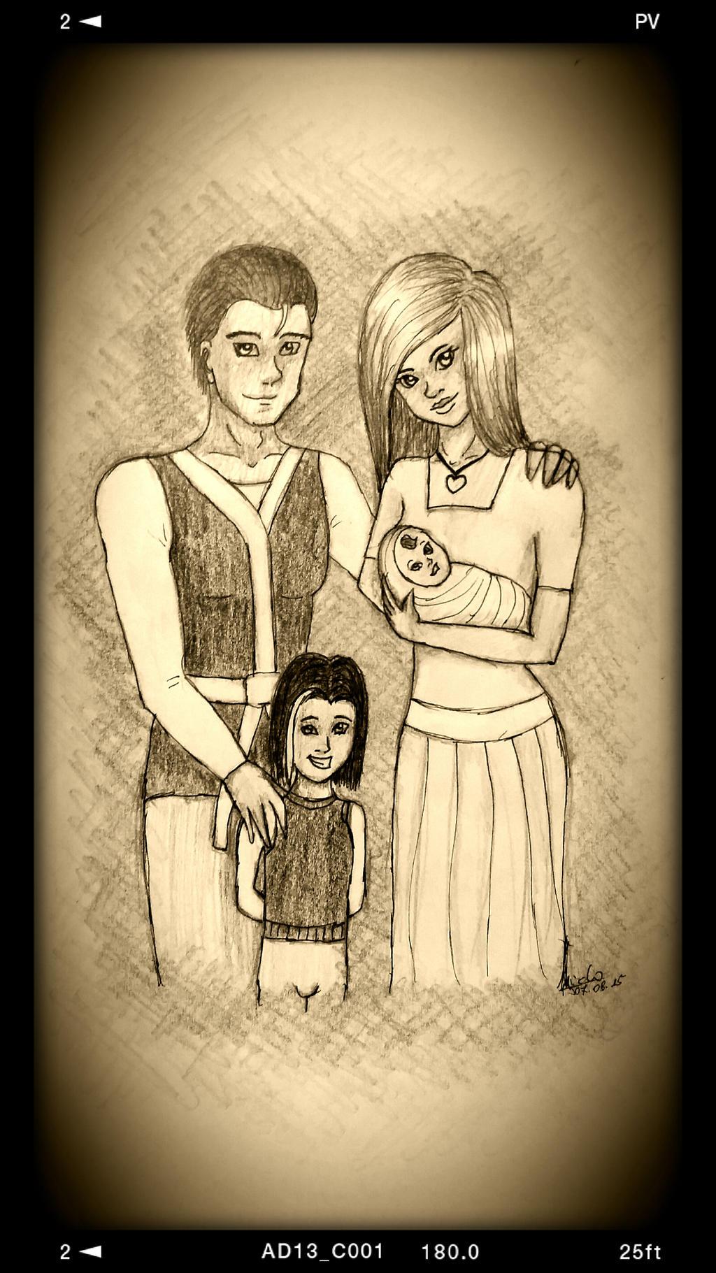 Ninja Aiclo's Family by Aiclo