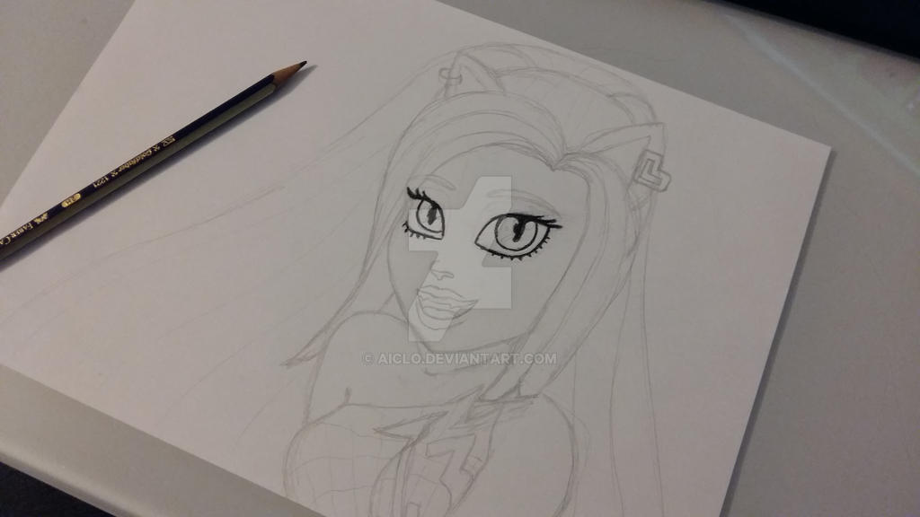 Catty Noir WIP by Aiclo