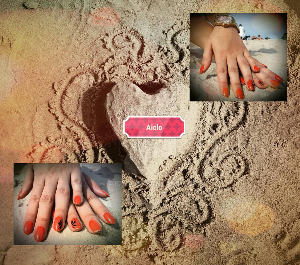 Aiclo's Summer nails  by Aiclo