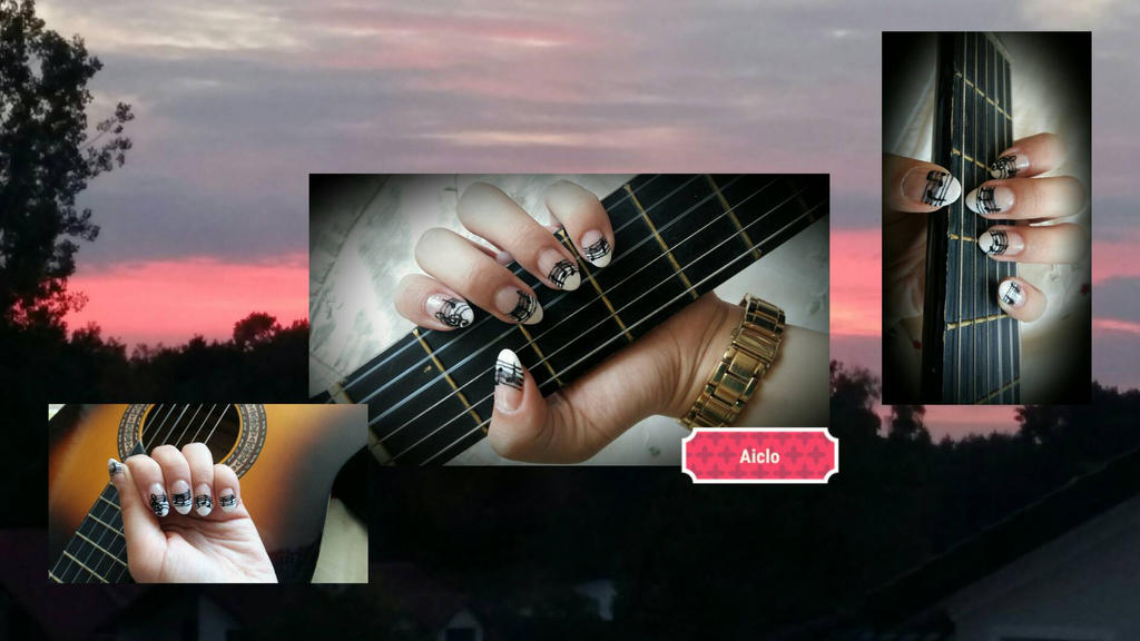 Aiclo's Music Nails Art  by Aiclo